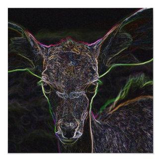 Neon Antelope Card