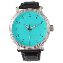 Neon Aqua Wristwatches