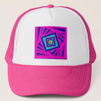 Neon Art Trucker Hat