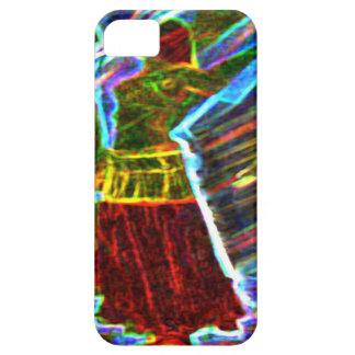 Neon Aura Veil Dancer iPhone SE/5/5s Case
