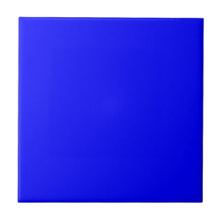 Neón azul marino azulejo cuadrado pequeño