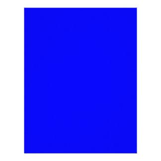 Neón azul marino membrete a diseño