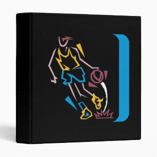 Neon Basketball 3 Ring Binders