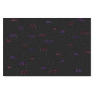 Neon Bats Tissue Paper