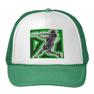 NEON BATTER HAT