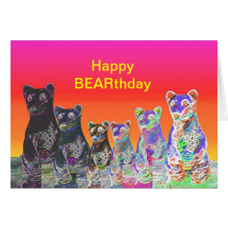 Neon Bear Product Card