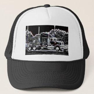 Neon Big Rig Trucker Hat