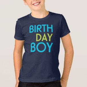 Neon BIRTHDAY Boy Tee