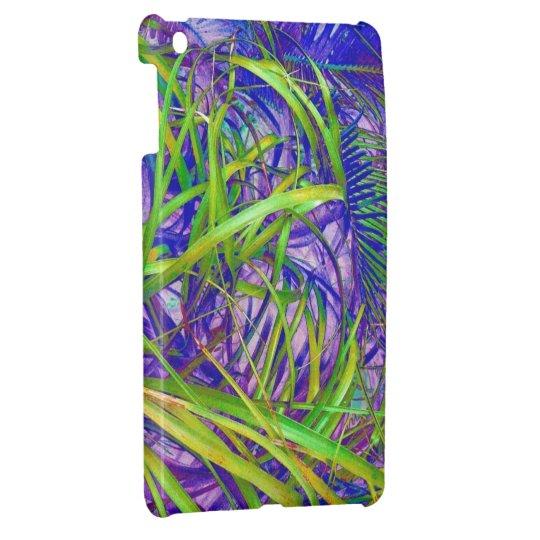 Neon Blades of Grass Jungle Photo Ipad Mini Case