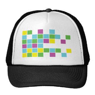 Neon Blocks Trucker Hat