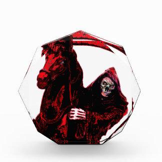 Neon Blood Grim Reaper Horseman Series by Valpyra Acrylic Award