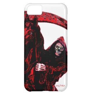 Neon Blood Grim Reaper Horseman Series by Valpyra iPhone 5C Cases