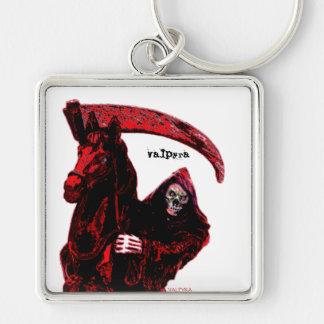 Neon Blood Grim Reaper Horseman Series by Valpyra Key Chains