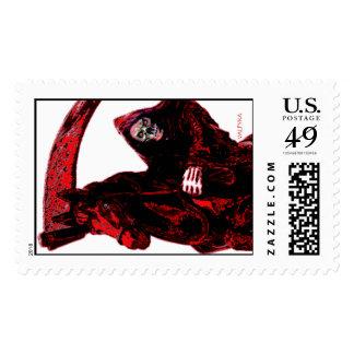 Neon Blood Grim Reaper Horseman Series by Valpyra Stamps