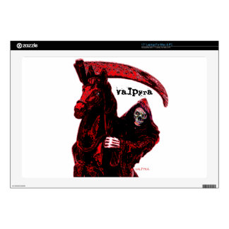 Neon Blood Grim Reaper Horseman Series by Valpyra Skins For Laptops