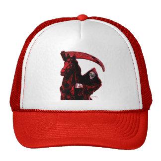 Neon Blood Grim Reaper Horseman Series by Valpyra Trucker Hat