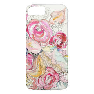 Neon Blooms iPhone 7 case