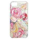 Neon Blooms iPhone Case Case For iPhone 5C