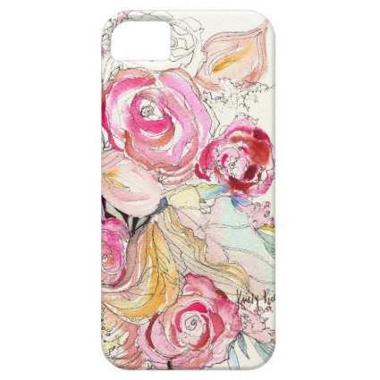 Neon Blooms iPhone Case iPhone 5 Case