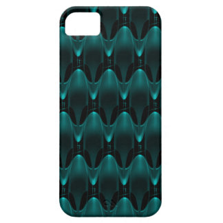 Neon Blue Alien Head iPhone 5 Covers