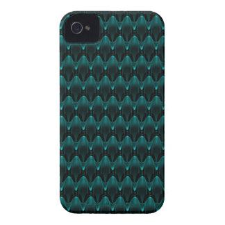 Neon Blue Alien Head iPhone 4 Case-Mate Cases