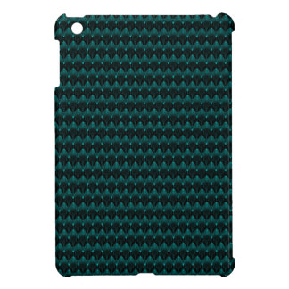 Neon Blue Alien Head iPad Mini Case
