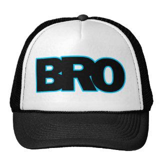 Neon Blue BRO Trucker Hat