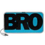 Neon Blue BRO PC Speakers