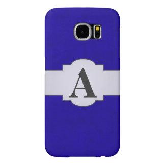 Neon Blue Color Velvet Custom Home Casino Samsung Galaxy S6 Case