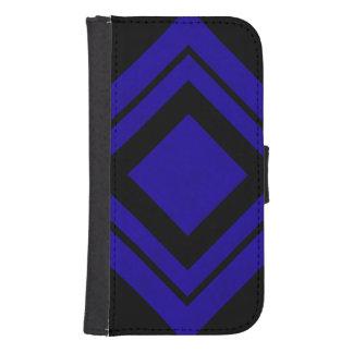 Neon Blue Color Velvet Personalize or Classic Phone Wallet