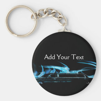 Neon Blue Limosine Manage this category Keychain