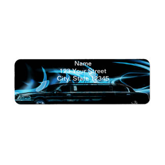 Neon Blue Limosine Manage this category Label