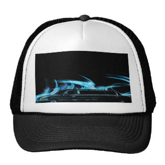 Neon Blue Limosine Manage this category Trucker Hat