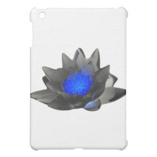 Neon Blue Lotus Case For The iPad Mini