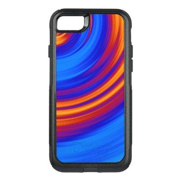 Neon Blue Orange Red Yellow OtterBox Commuter iPhone 8/7 Case