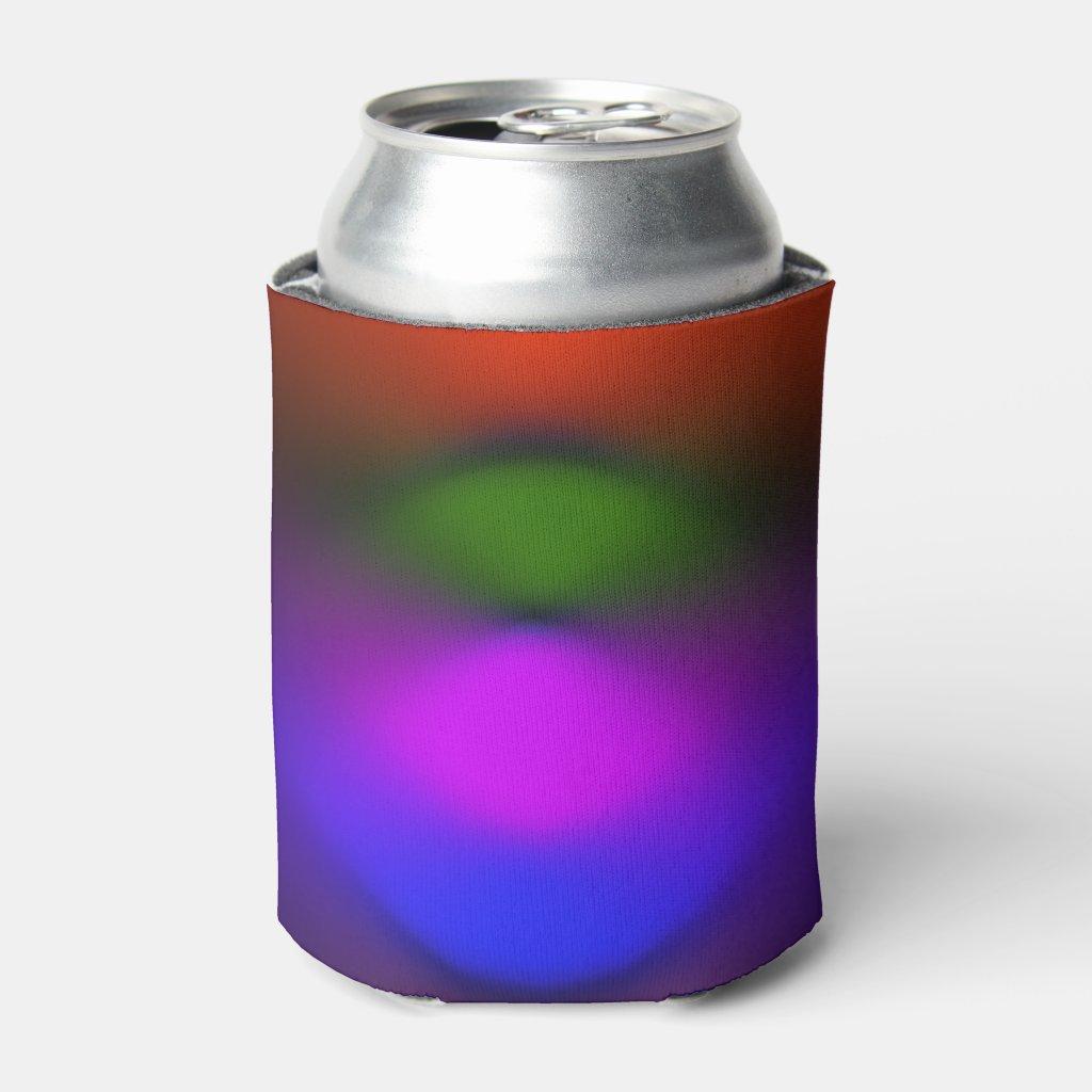 Neon Blue, Purple, Green, Orange Can Cooler ZSSPG