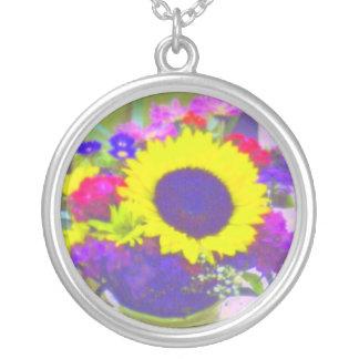 Neon Bouquet Necklace