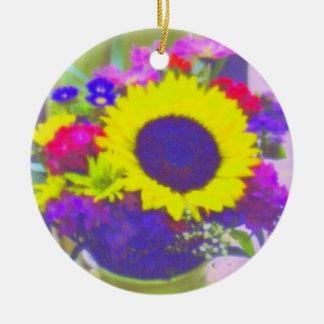 Neon Bouquet Ornament