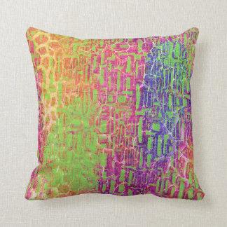Neon Bright Decorative Pillow