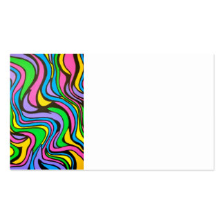 Neon Brook - Abstract Art Handpainted Double-Sided Standard Business Cards (Pack Of 100)