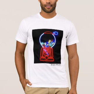 Neon Bubble Gum Machine T-Shirt