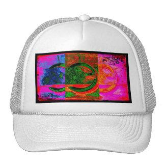 Neon Buckles Trucker Hat