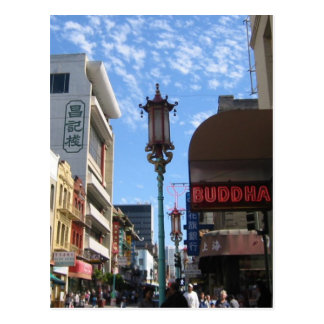 Neon Buddha Chinatown SF Photography Postcards