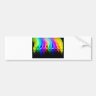 Neon Bumper Sticker