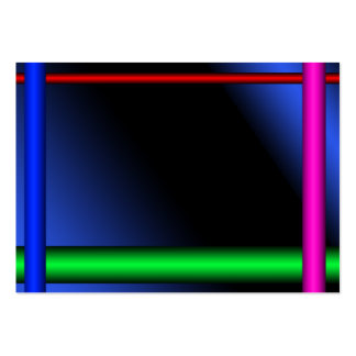 Neon Business Card Template #2