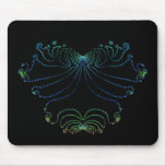Neon Butterfly ~ Neon Heart Mouse Mats