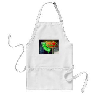 Neon Cafe Adult Apron