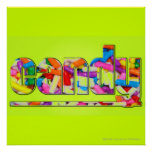 NEON CANDY PRINT