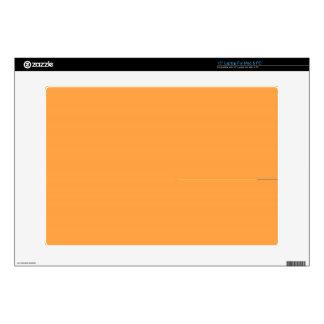 """Neon Carrot Skins For 15"""" Laptops"""
