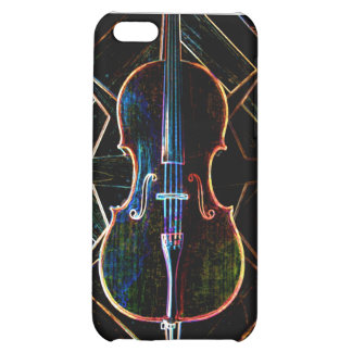 Neon Cello Case For iPhone 5C